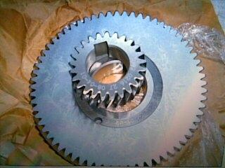 阿特拉斯空压机传动大小齿轮(主副)