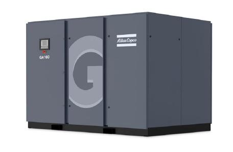 阿特拉斯喷油螺杆压缩机GA90+ GA110 GA132kw GA160VSD 变频