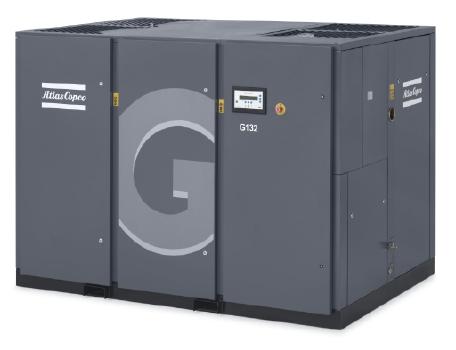 成都阿特拉斯喷油双螺杆空气压缩机 G90 G110 G132 G160 G250kw 5